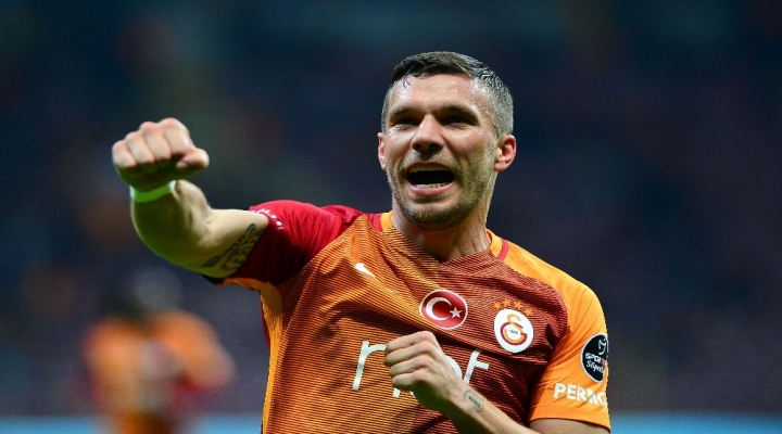 Podolski Attıkça Galatasaray Kazanıyor