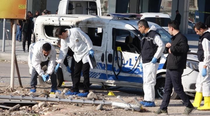 Polise Bombalı Saldırıyla İligli 10 Gözaltı