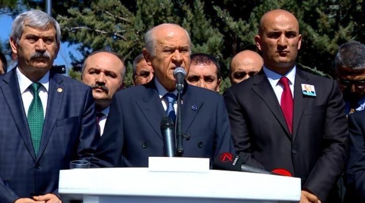 """""""Merhum Türkeş Bey Evet Dedi, Biz De Bugün Evet Diyoruz"""""""