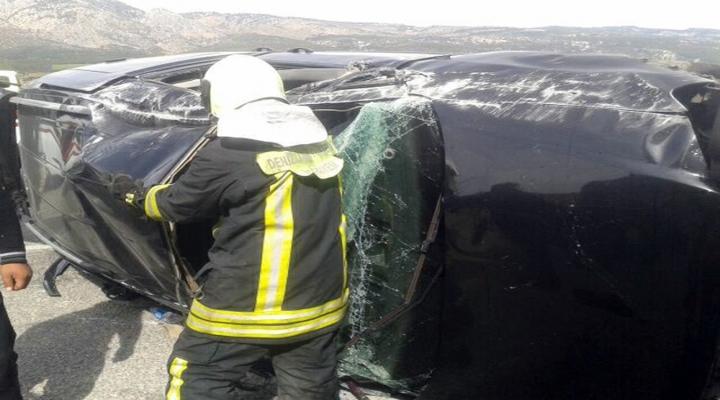 Otomobil Takla Attı: 1 Ölü 3 Yaralı