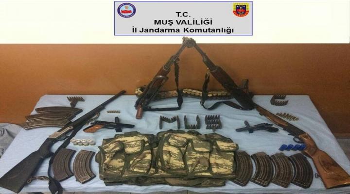Muşta Terör Operasyonu: 12 Gözaltı