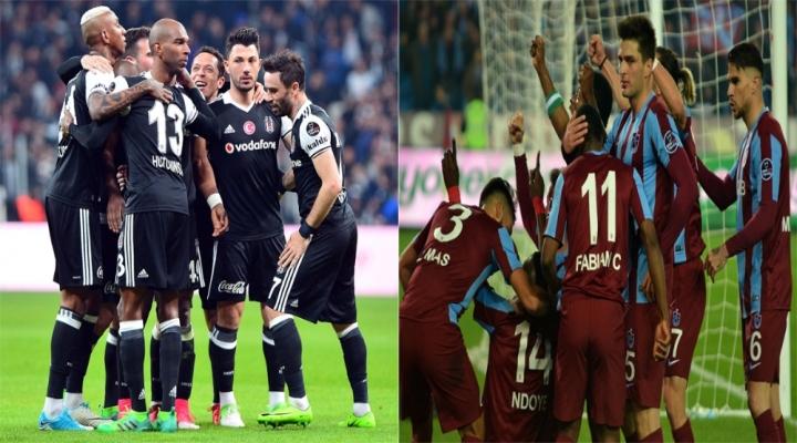 Beşiktaş Atıyor, Trabzonspor Yemiyor