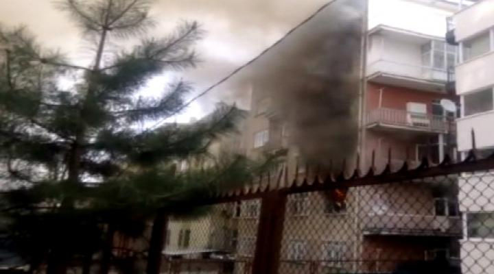 Ankarada Doğalgaz Patlaması