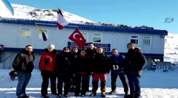Türk Bilim İnsanlarının Antartika Seyrüseferi Tamamlandı