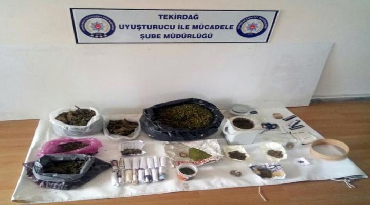 Tekirdağda Uyuşturucu Operasyonu: 29 Gözaltı