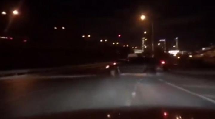 Trafikte Yaşanan Korku Dolu Anlar Kamerada
