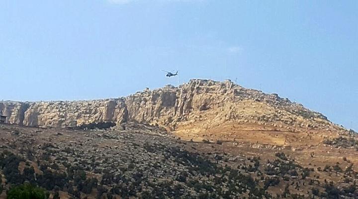 Deaş Irakta Helikopter Düşürdü: 2 Pilot Öldü