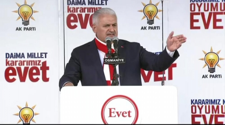 """Başbakan Yıldırımdan Kılıçdaroğluna: """"Sana Mı Düştü Fetöye Sahip Çıkmak?..."""