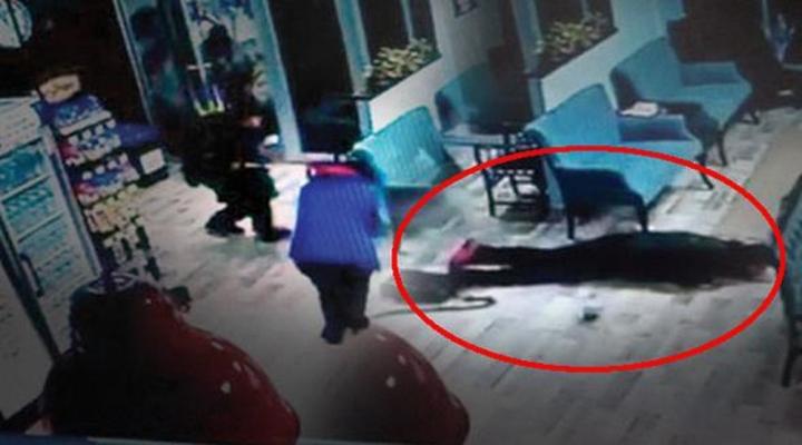 Spor Salonunda İnfaz Kamerada