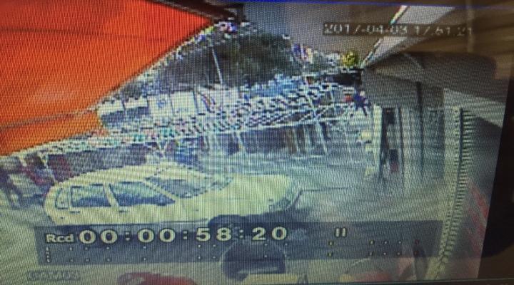 Çadır Brandası Cinayeti Kamerada