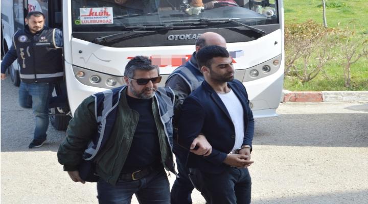 Lüleburgazda Suç Örgütü Operasyonu: 13 Tutuklama