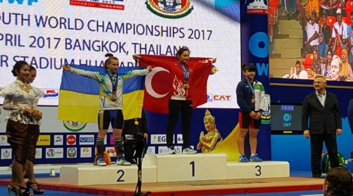 Nuray Levent, Halterde Dünya Şampiyonu Oldu