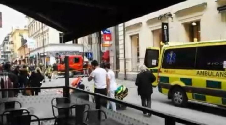 İsveç Polisi: Olay Terör Saldırısı