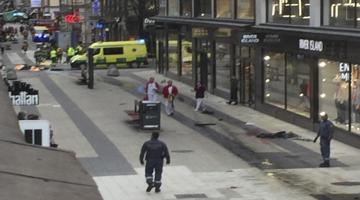 Stockholmde Sokağa Çıkma Yasağı