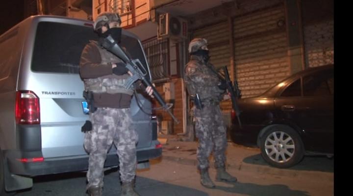 159 Kişinin Gözaltına Alındığı Deaş Operasyonu Kamerada