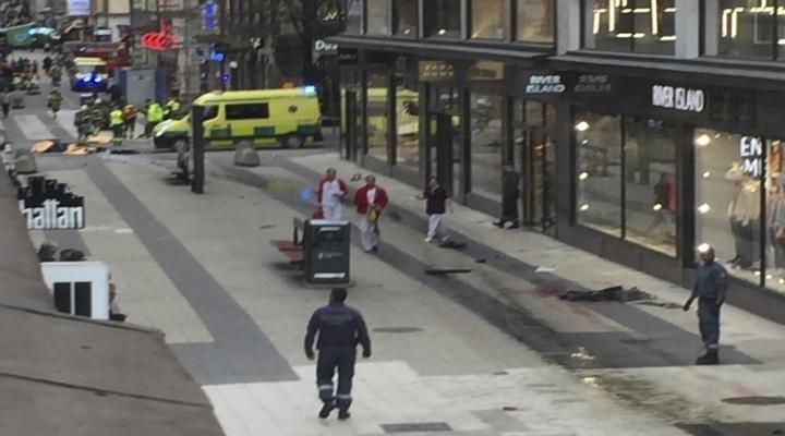 İsveçte Kamyonlu Terörist Tutuklandı
