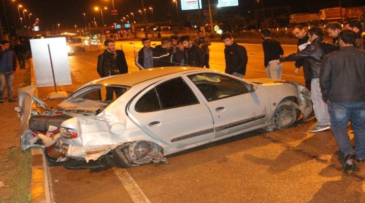 Elazığda Trafik Kazası: 3 Yaralı