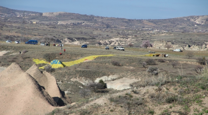 Kapadokyada Balon Düştü: 1 Ölü, 20 Yaralı