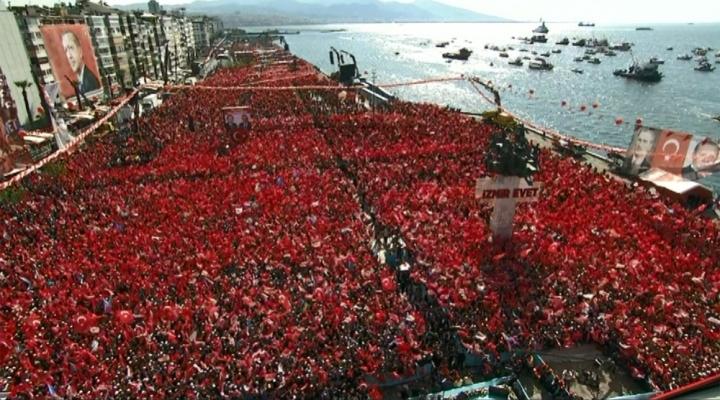 İzmirde Tarihi Bir Gün Yaşandı