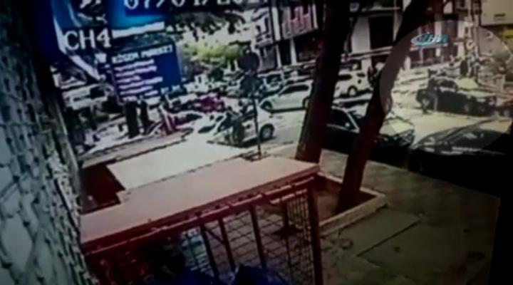 10 Saniyede Otomobil Çalan Hırsızlar Kamerada