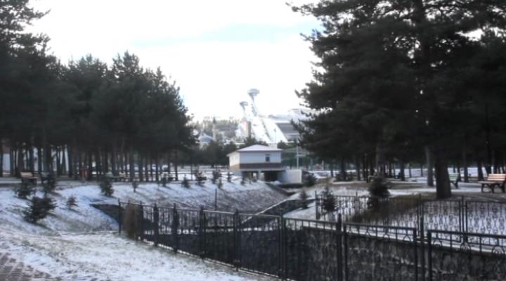 Erzurumda Kar Ve Soğuk Etkili Oluyor