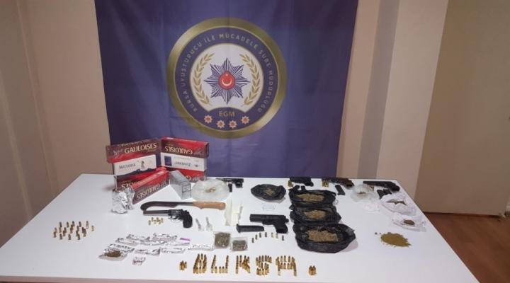 Bursada 34 Kişi Uyuşturucudan Tutuklandı