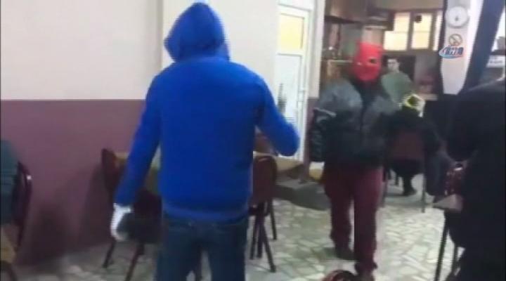 Kahvehaneyi Basan Teröristler Yakalandı