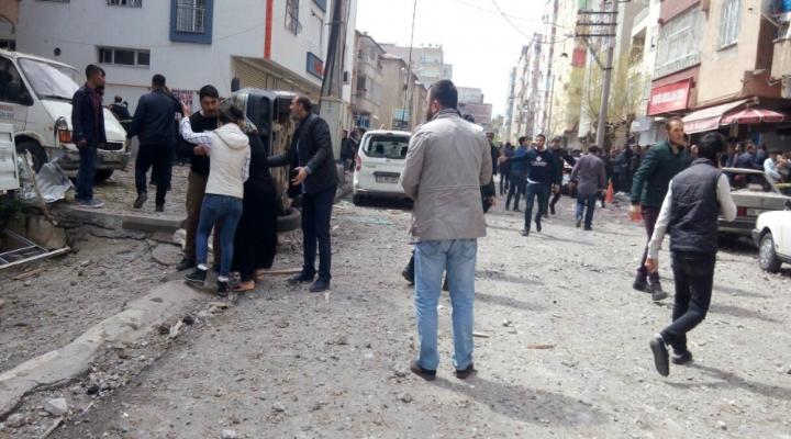 Diyarbakırda Patlama: Yaralılar Var !