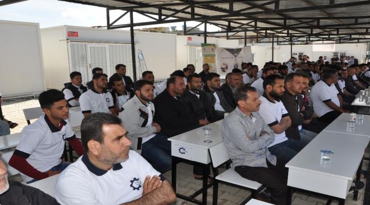 160 Suriyeli Meslek Sahibi Oldu