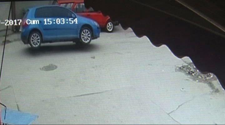 Rögar Kapağı Otomobili Perte Çıkardı