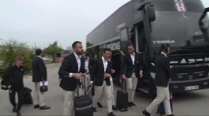 Beşiktaş, Çeyrek Final İçin Yola Çıktı