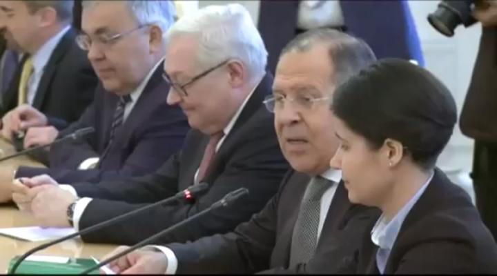 Tillerson, Lavrov İle İlk Kez Görüştü