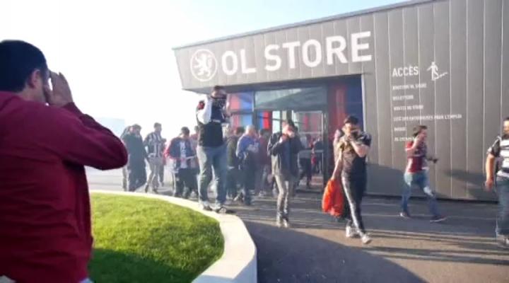 Beşiktaşlı Taraftarlara Biber Gazlı Müdahale