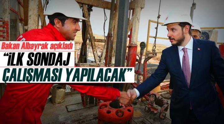 Bakan Berat Albayrak: Akdeniz'de derin sondaj çalışması yapılacak!
