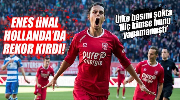 Enes Ünal'ın Türkiye'yi Gururlandıran Hollanda Rekoru!