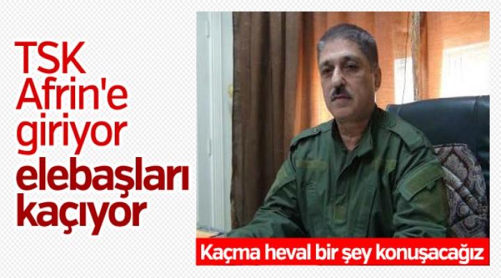 YPG/PKK elebaşları Afrin'den kaçıyor