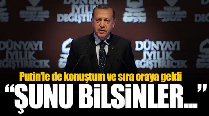 Cumhurbaşkanı Recep Tayyip Erdoğan: