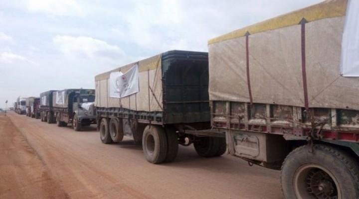 Kızılhaç'tan Afrin'e yardım konvoyu