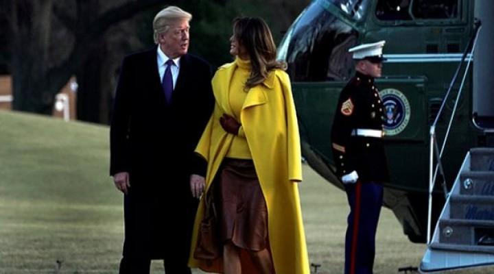 Trump'ın eşinin annesine ve babasına Green Card çıktı
