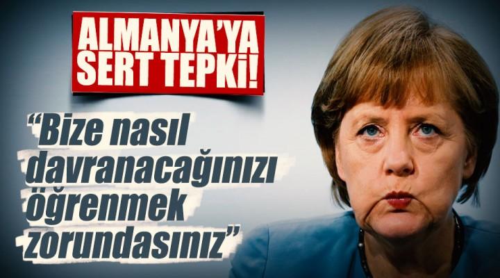 Dışişleri Bakanı Mevlüt Çavuşoğlu'dan Almanya İçin Sert Açıklama!