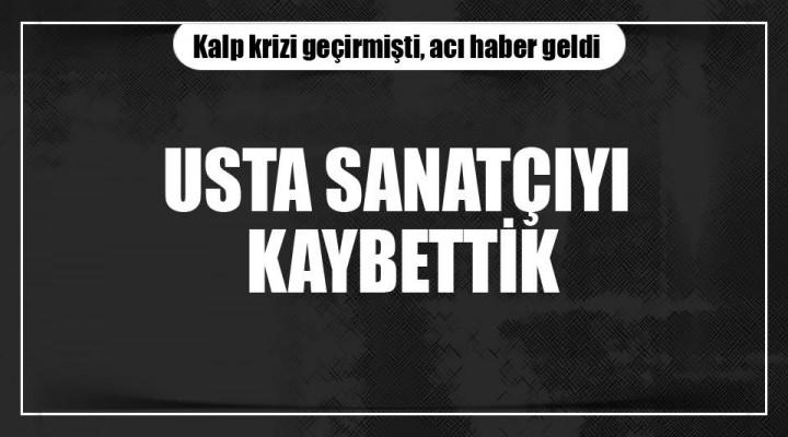 Halk Müziğinin Usta Sanatçısı Emre Saltık (57) Vefaat Etti.
