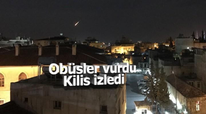 Kilis'ten terör hedeflerine top atışları yapıldı
