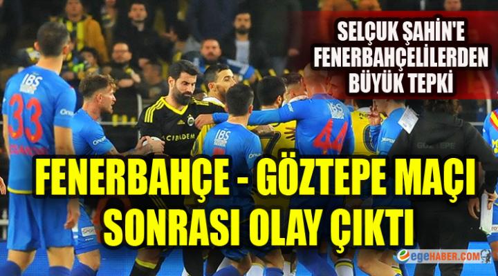 Fenerbahçe-Göztepe Maçı Sonrası İki Takım Oyuncuları Birbirine Girdi