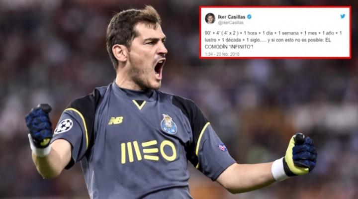 Casillas, 90+8'deki gole çok sinirlendi