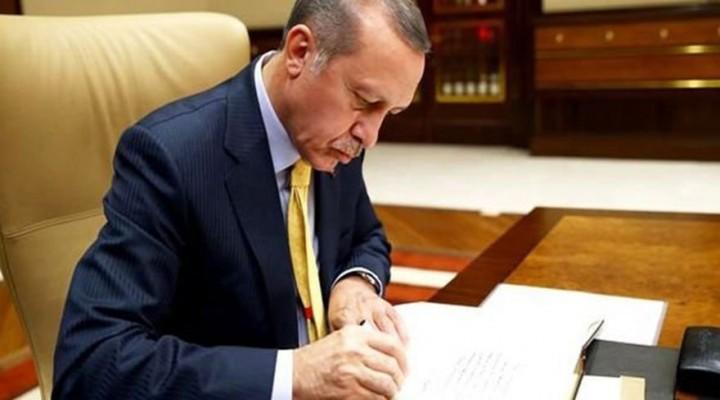 Cumhurbaşkanı Erdoğandan 8 Kanuna Onay
