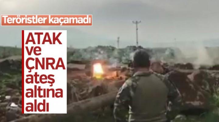 Terör hedefleri ATAK ve ÇNRA ile vuruldu