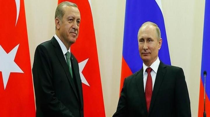 Son dakika haberi... Cumhurbaşkanı Erdoğan, Putin'le görüştü