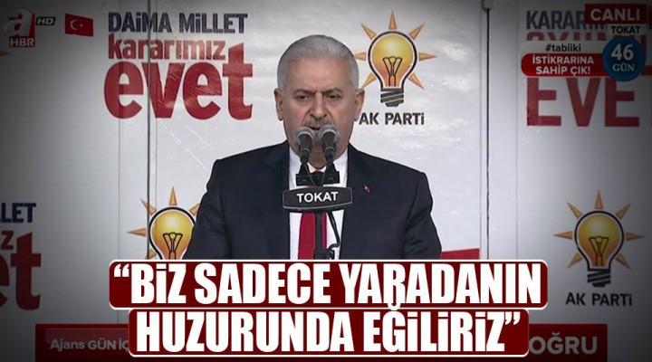 Başbakan Binali Yıldırım Tokat'ta Halka Hitap Etti