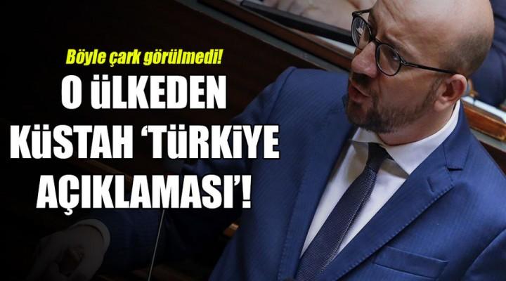 """Belçika Başbakanı Charles Michel, """"Türkiye-AB ilişkilerini sonlandırmalıyız."""