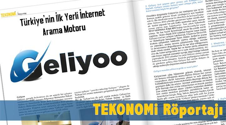 Trakya'nın iş ekonomi ve yaşam dergisi TEKONOMİ'de Geliyoo Röportajı